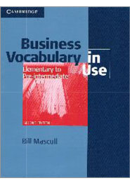 Business Vocabulary in Use Elementary to Pre-intermediate